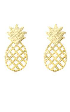 Pineapple studs!