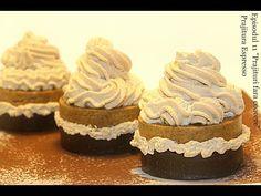 Prajitura Espresso-Ep11 Prajituri fara coacere Adygio Kitchen - YouTube Food Cakes, Homemade Cakes, No Bake Cake, Biscuit, Espresso, Cake Recipes, Cheesecake, Cupcakes, Cookies