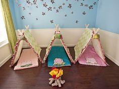 Camping -- Best Girl Birthday Themes
