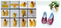 Kimono Slippers | 10 Adorable DIY Slippers That Will Give You The Warm Fuzzies