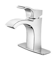 Venturi Single-Control Bathroom Faucet in Chrome Finish