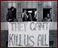 Kent State, May 4, 1970  I was a junior at this time......I never saw this photo......they evacuated us immediately and I ha to have the Red Cross call my parents because all the phone lines were used