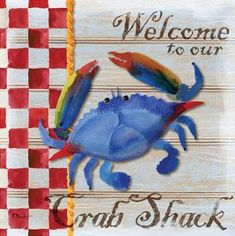 "Poster Print /""Crabs Galore/"""