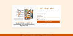 Login Design - RKB (Rencana Kebutuhan Barang)