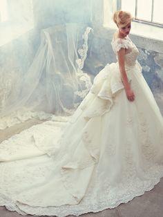 Robe de mariée majestueuse