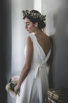 """""""Mélancolie"""" de Alejandra Svarc: vestidos de novia románticos y vintage"""