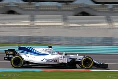 Robert Kubica, Williams, Yas Marina, 2017 F1 2017, Test Day, Formula One, Abu Dhabi, Racing, Car, Running, Automobile, Auto Racing