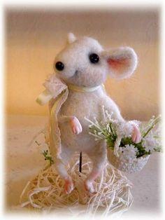 Little Mimi Mouse by Sadovskaya Tatiana