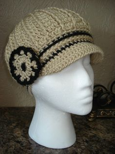 Your place to buy and sell all things handmade Crochet Newsboy Hat, News Boy Hat, Cloche Hat, Neck Warmer, Classy, Trending Outfits, Unique Jewelry, Hats, Handmade Gifts
