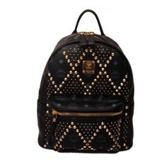 beaca3de184e Our world-renowned MCM Studded Backpack collection makes a dazzling  comeback this season unveiling vibrant