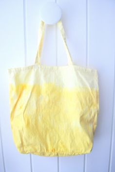 ombre fabric bag dye with natural color