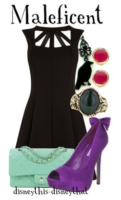 Maleficent Outfit<3