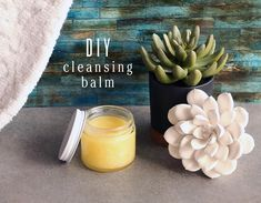 At Edens Garden, we pride ourselves in staying on the cutting edge of the beauty and essential oil world. Recently, a new kind of face wash has been hitting boutique shelves and online shops across the county: cleansing balm.A solid fa. Helichrysum Essential Oil, Essential Oils For Colds, Sandalwood Essential Oil, Frankincense Essential Oil, Essential Oil Uses, Diy Oil Cleanser, Diy Cleansing Oil, Face Cleanser, Make Up Braut