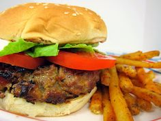 Plain Chicken: Crack Burger.   Can be made w beef or ground turkey. Easy to make ahead & freeze patties.