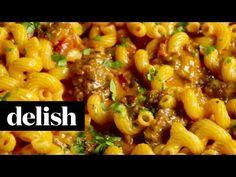 Best Cheesy Taco Pasta Recipe - How To Make Cheesy Taco Pasta
