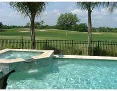 beautiful view from your pool to the #golf course