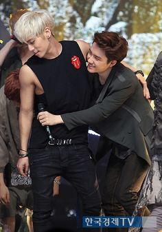 Kim Jonghyun and Do Kyungsoo.
