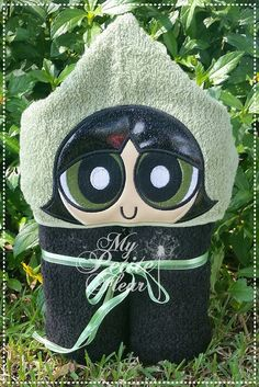Buttercup Hooded Towel