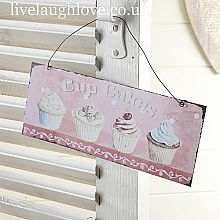 Cup Cake Sweetest Sign