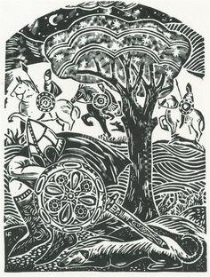 Hannah Firmin Portfolio | Black and White illustrations Samples