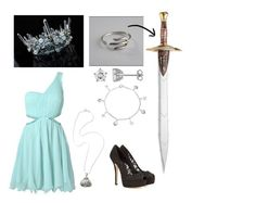 """""""Daughter of Poseidon: Formal"""" by cjandersonhaley on Polyvore featuring AX Paris, Laura Ashley, Bling Jewelry, NOVICA and Dolce&Gabbana"""