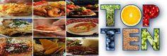 Top Ten Foods around the world