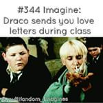 Instagram photo by cuddle_thefandom - Photo credit @multifandom_imagines  Omg I would legit die of cuteness from this!! Draco sending me love letters  I couldn't ask for more #draco #dracomalfoy #loveletters #lovehim #inlove #cute #adorable #perfect #cometrue #please #pleasebereal #thankyou