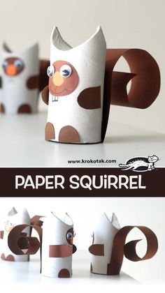 krokotak | Paper Squirrel