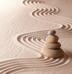 zen meditation garden
