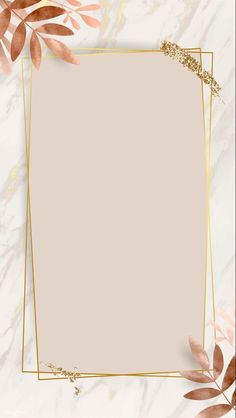 iPhone Wallpaper Obtain premium picture of Leafy golden rectangle body vector by nunny about backgro Flower Background Wallpaper, Framed Wallpaper, Phone Screen Wallpaper, Pastel Wallpaper, Cute Wallpaper Backgrounds, Tumblr Wallpaper, Pretty Wallpapers, Flower Backgrounds, Background Patterns