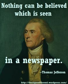 My Grandfather never ordered or read newspapers, for exactly this reason. Us History, American History, Best Quotes, Life Quotes, Jesus Second Coming, Cognitive Dissonance, Interesting Conversation, Writers Write