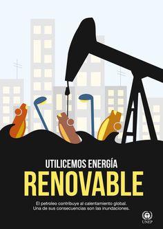 AFICHE - Campaña de concientización sobre el cuidado de medioambiente en el entorno urbano.