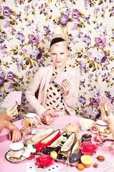 The Terrier and Lobster: London Sole Marie Antoinette Photo Shoot by Net a la Mode