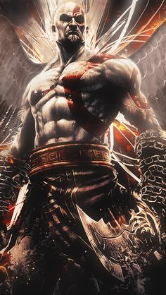 Resultado de imagem para god of war wallpaper iphone
