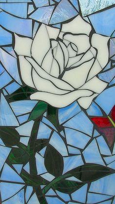 mosaic art rose - Поиск в Google
