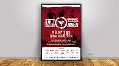Poster para el Half Triathlon Pamplona-Iruña 2016