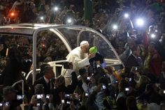 World Youth Day 2013: Pope Francis meets thousands of pilgrims at Copacabana beach