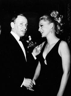 Frank with Virna Lisi