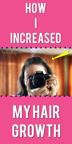 I increased my hair growth over 100% by using these methods. Learn how to grow hair faster.