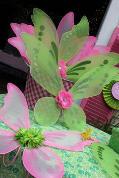 Fairies Birthday Party Ideas | Photo 1 of 35 | Catch My Party