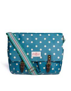 Cath Kidston Spot Messenger Bag - newest style of handbag in England