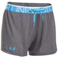 Women's Under Armour Play Up Shorts, Grey Other