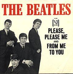 primer álbum de los Beatles, el anterior es el editado. 1963.