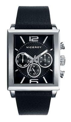 #reloj #Viceroy para hombre cuadrado multifución. Perfecto para ocasiones especiales.