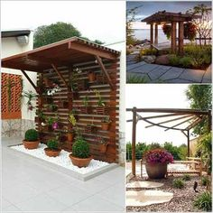 Pergola For Small Backyard Wisteria Pergola, Metal Pergola, Cheap Pergola, Wooden Pergola, Backyard Pergola, Pergola Shade, Pergola Plans, Backyard Landscaping, Pergola Ideas