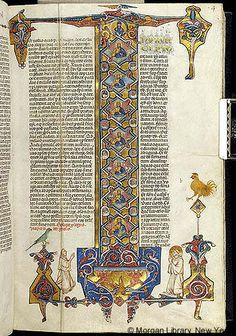 Italy, perhaps Lombardy, 1320 Bible - Images from Medieval and Renaissance Manuscripts - The Morgan Library & Museum