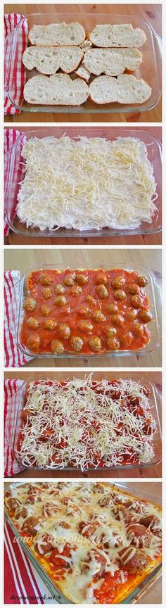 How To Meatball Sub Casserole - for a Super Bowl party?