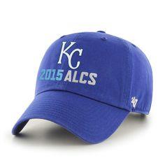 73fb8cfcce2e2b Kansas City Royals 47 Brand 2015 MLB Postseason ALCS Adjustable Relax Hat  Cap
