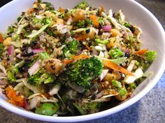 Crazy, Sexy Diet Buddha Bowls are fast food for the conscious eater. Use any combo of slightly steamed, sauteed, or finely chopped raw v...
