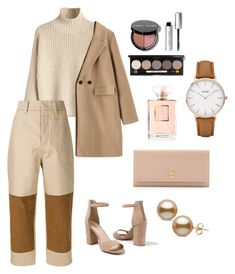 """go to work with stylist look 🌟"" by rofaa187 ❤ liked on Polyvore featuring Sofie D'hoore, Venus, Prada, CLUSE, Chanel, Bobbi Brown Cosmetics, ootd and women"